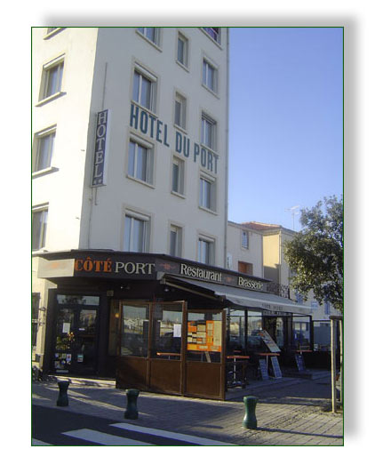 accueil et services 224 l hotel restaurant du port aux sables d olonne un h 244 tel de charme aux